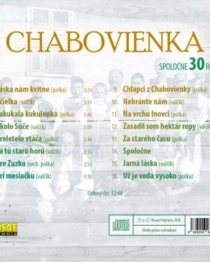 chabovienka spolocne 30 rokov cd